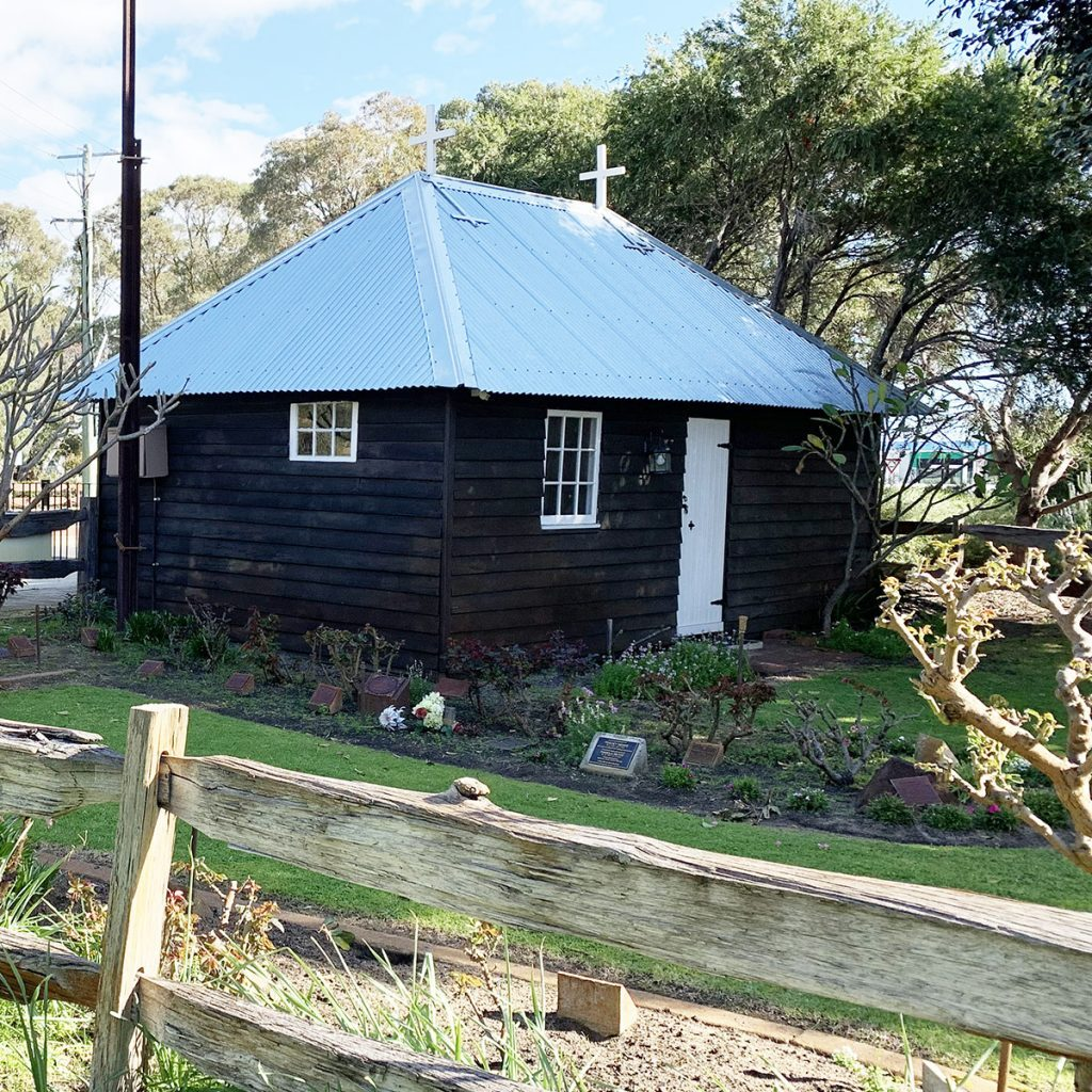 Reported to be the smallest Church in Australia.
